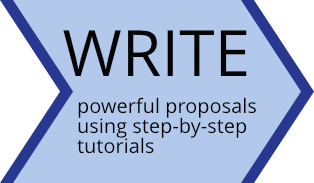 Write powerful proposals using step-by-step tutorials